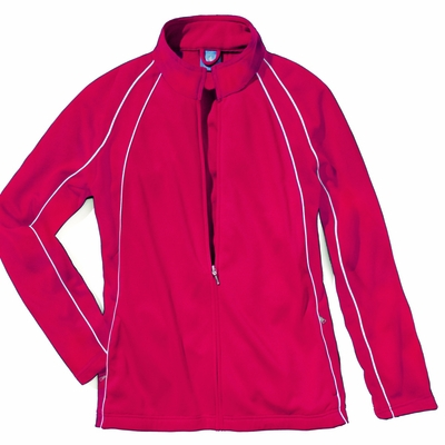 Charles River Girls Jacket: 100% Polyester  Piped Color Block (4984)