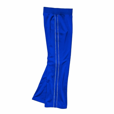 Charles River Girls Track Pants: 100% Polyester Piped  (4985)