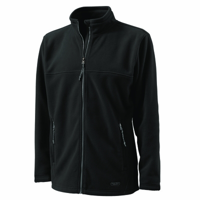 Charles River Men's Fleece Jacket: Anti-Pill Pocketed Full-Zip (9150)