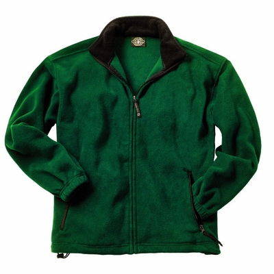 Charles River Men's Fleece Jacket: Anti-Pill Pocketed Full-Zip (9502)