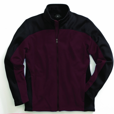 Charles River Men's Jacket: 100% Polyester Color Block Full-Zip (9077)
