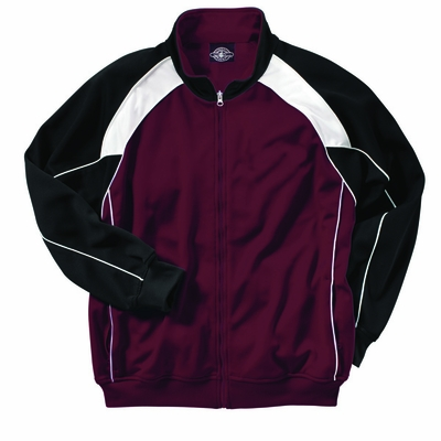 Charles River Men's Jacket: 100% Polyester Piped  Color Block (9984)