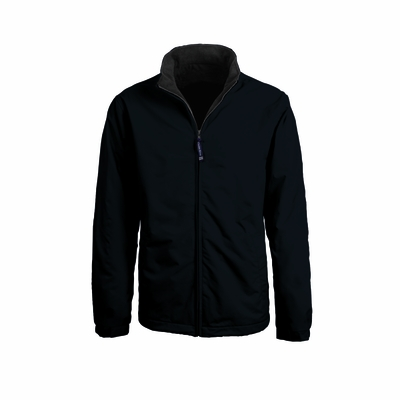 Charles River Men's Jacket: Dobby Nylon Contrast Lined Full-Zip (9488)