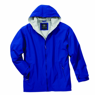 Charles River Men's Jacket: Nylon Pocketed Full-Zip (9922)