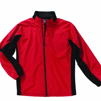 Charles River Men's Jacket: Polyester Color Block Full-Zip (9896)