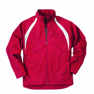 Charles River Men's Jacket: Polyester Color Block Full-Zip (9954)