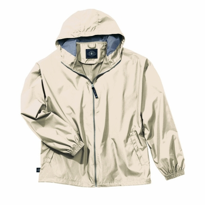 Charles River Men's Jacket: Polyester Hooded Full-Zip (9614)