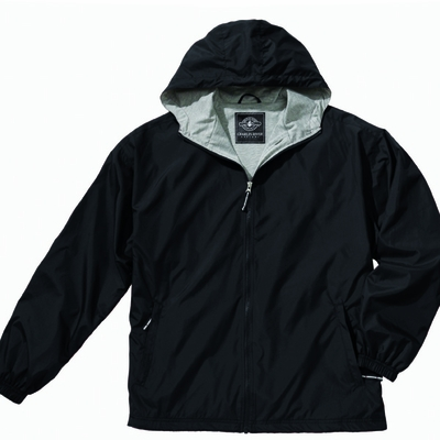 Charles River Men's Jacket: Polyester Jersey Lined Full-Zip (9720)