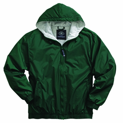 Charles River Men's Jacket: Sweatshirt Lined Pocketed Quarter-Zip (9921)