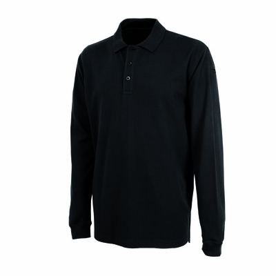 Charles River Men's Polo Shirt: 100% Cotton Pique UV Protection Long Sleeve (3347)