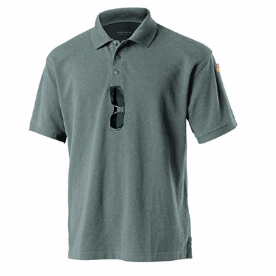 Charles River Men's Polo Shirt: 100% Cotton Pique UV Protection with Pen Pocket (3045)