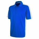 Charles River Men's Polo Shirt: 100% Polyester Color Block with Wicking (3315)