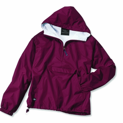 Charles River Men's Pullover Jacket: Nylon  Raglan Quarter-Zip (9905)