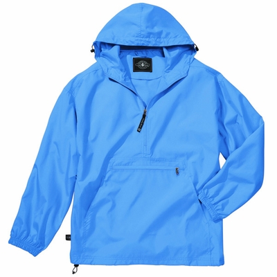 Charles River Men's Pullover Jacket: Water Resistant Packable Quarter-Zip (9904)