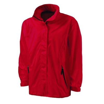 Charles River Men's Rain Jacket: Ripstop Nylon Full-Zip with Concealed Hood (9173)