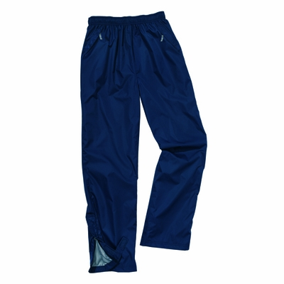Charles River Men's Rain Pants: Nylon Pocketed Solid (9783)