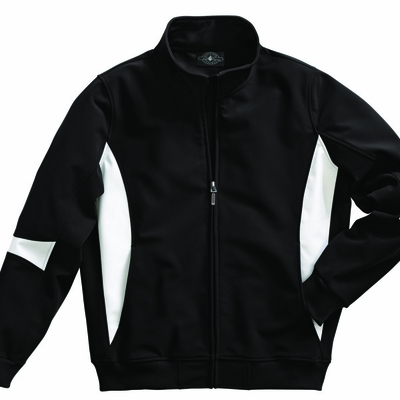 Charles River Men's Soft Shell Jacket: Bonded Tricot Color Block Full-Zip (9024)