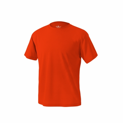 Charles River Men's T-Shirt: 100% Polyester Pique Solid with Wicking (3830)