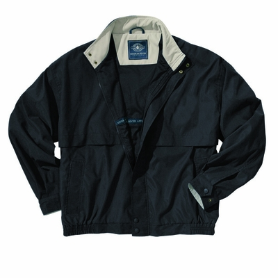 Charles River Men's Tall Microfiber Jacket: Contrast Interior Pocketed Full-Zip (9911T)