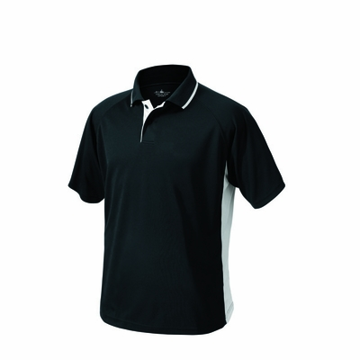Charles River Men's Tall Polo Shirt: 100% Polyester Color Block with Tipped Collar (3810T)