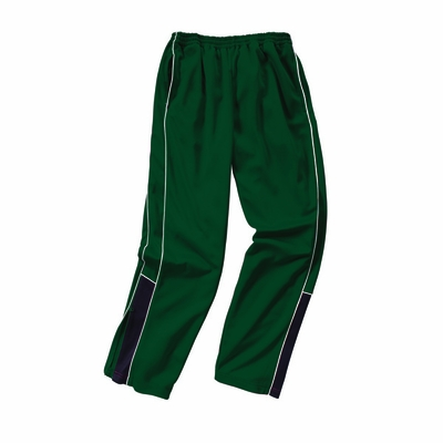 Charles River Men's Track Pants: 100% Polyester  Piped  (9985)