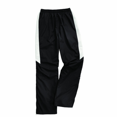 Charles River Men's Track Pants: Polyester Pocketed Color Block (9958)