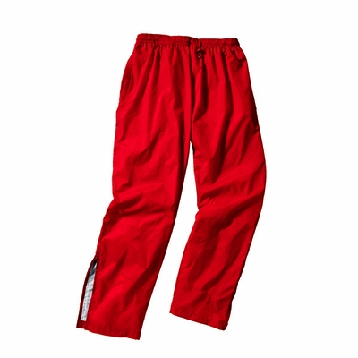 Charles River Men's Track Pants: Polyester Pocketed Mesh Lined (9657)
