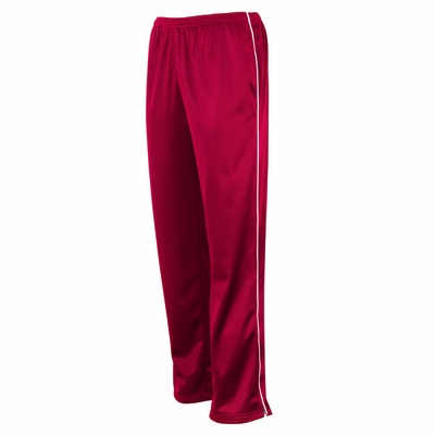 Charles River Men's Track Pants: Polyester Tricot Pocketed with Piping (9328)