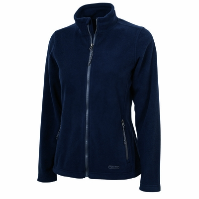 Charles River Women's Fleece Jacket: Anti-Pill  Pocketed Full-Zip (5250)