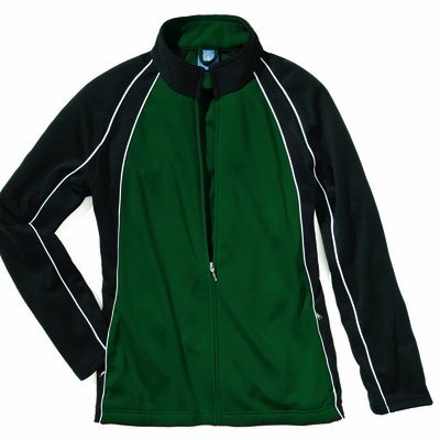 Charles River Women's Jacket: 100% Polyester  Piped Color Block (5984)