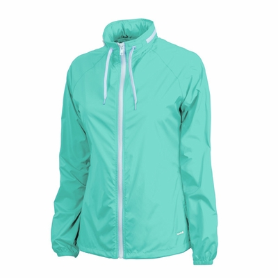 Charles River Women's Jacket: Microfiber Taffeta  Raglan with Tuck-Away Hood (5415)