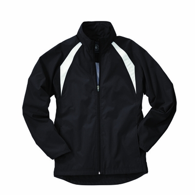 Charles River Women's Jacket: Polyester Color Block Full-Zip (5954)