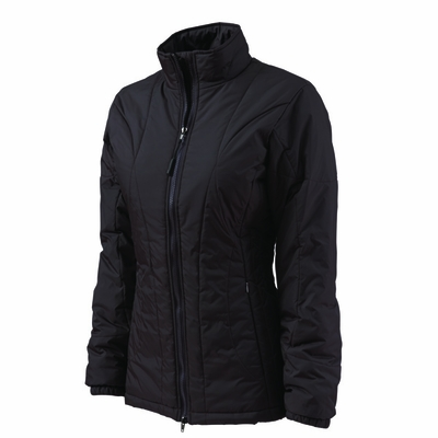 Charles River Women's Jacket: Quilted Nylon Tricot Lined Full-Zip (5182)