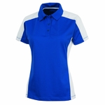 Charles River Women's Polo Shirt: 100% Polyester Color Block with Wicking (2315)