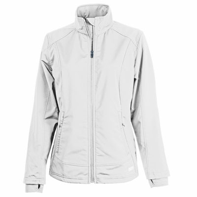 Charles River Women's Soft Shell Jacket: Poly Blend Pocketed Full-Zip (5317)