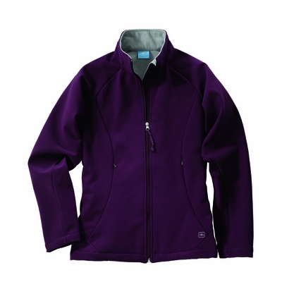 Charles River Women's Soft Shell Jacket: Poly Blend Pocketed Full-Zip (5916)