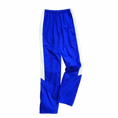 Charles River Women's Track Pants: Polyester Pocketed Color Block (5958)