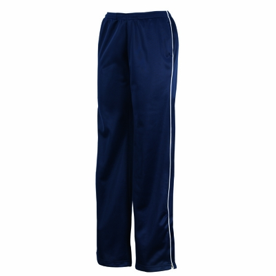Charles River Women's Track Pants: Polyester Tricot Pocketed with Piping (5328)