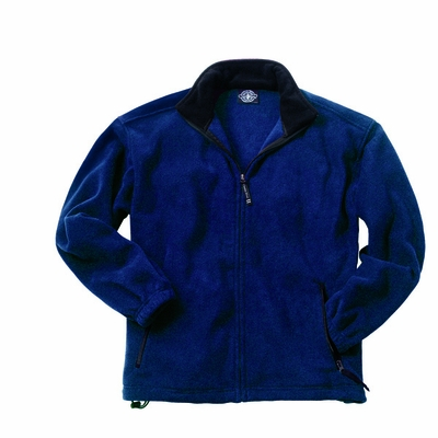 Charles River Youth Fleece Jacket: Anti-Pill Pocketed Full-Zip (8502)