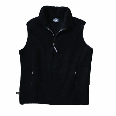 Charles River Youth Fleece Vest: Anti-Pill Pocketed Full-Zip (8503)