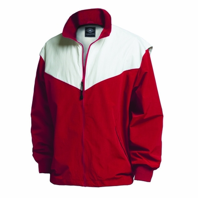 Charles River Youth Jacket: Nylon Color Block with Pockets (8971)