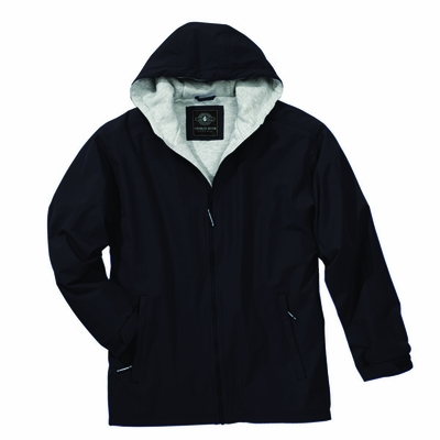 Charles River Youth Jacket: Nylon Pocketed Full-Zip (8922)
