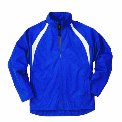 Charles River Youth Jacket: Polyester Color Block Full-Zip (8954)