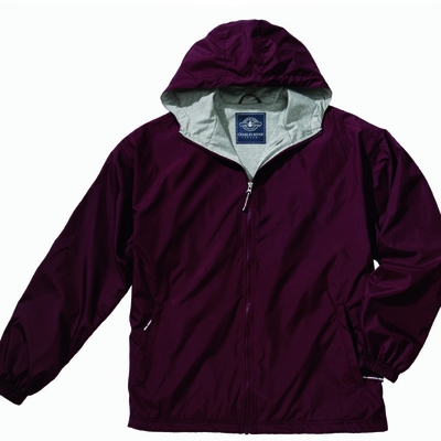 Charles River Youth Jacket: Polyester Jersey Lined Full-Zip (8720)