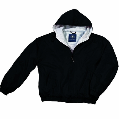 Charles River Youth Jacket: Sweatshirt Lined Pocketed Quarter-Zip (7921)