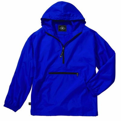Charles River Youth Pullover Jacket: Water Resistant Packable Quarter-Zip (8904)