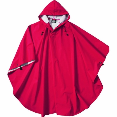Charles River Youth Rain Poncho: Waterproof Packable with Snap Closure (8709)