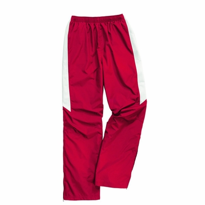Charles River Youth Track Pants: Polyester Pocketed Color Block (8958)