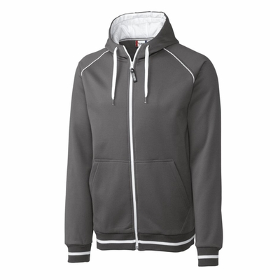 Clique Men's Full Zip Jacket: 80% Polyester, 20% Cotton Full Zip Long Sleeve (MQK00035)