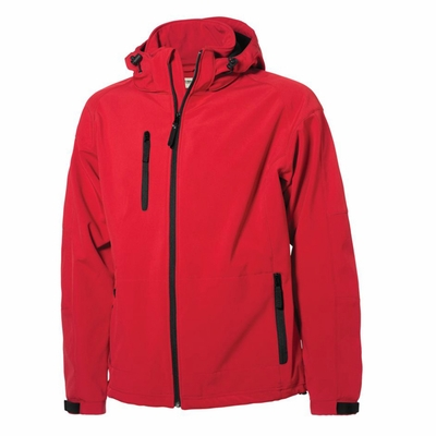Clique Men's Jacket: 95% Polyester, 5% Spandex Full Zip Long Sleeve (MQO00022)
